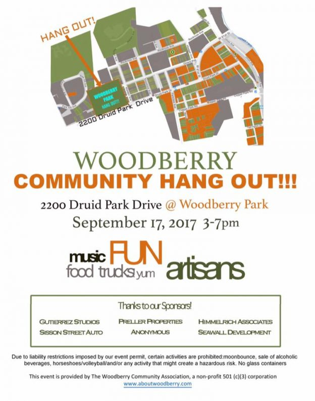 WCA's Woodberry Community Hang Out