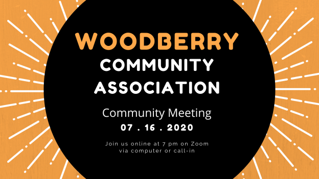 WCA July 2020 online community meeting